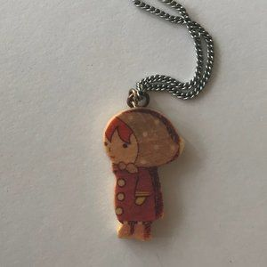 Forever 21 Jewelry - Quirky Wooden Charm Necklace